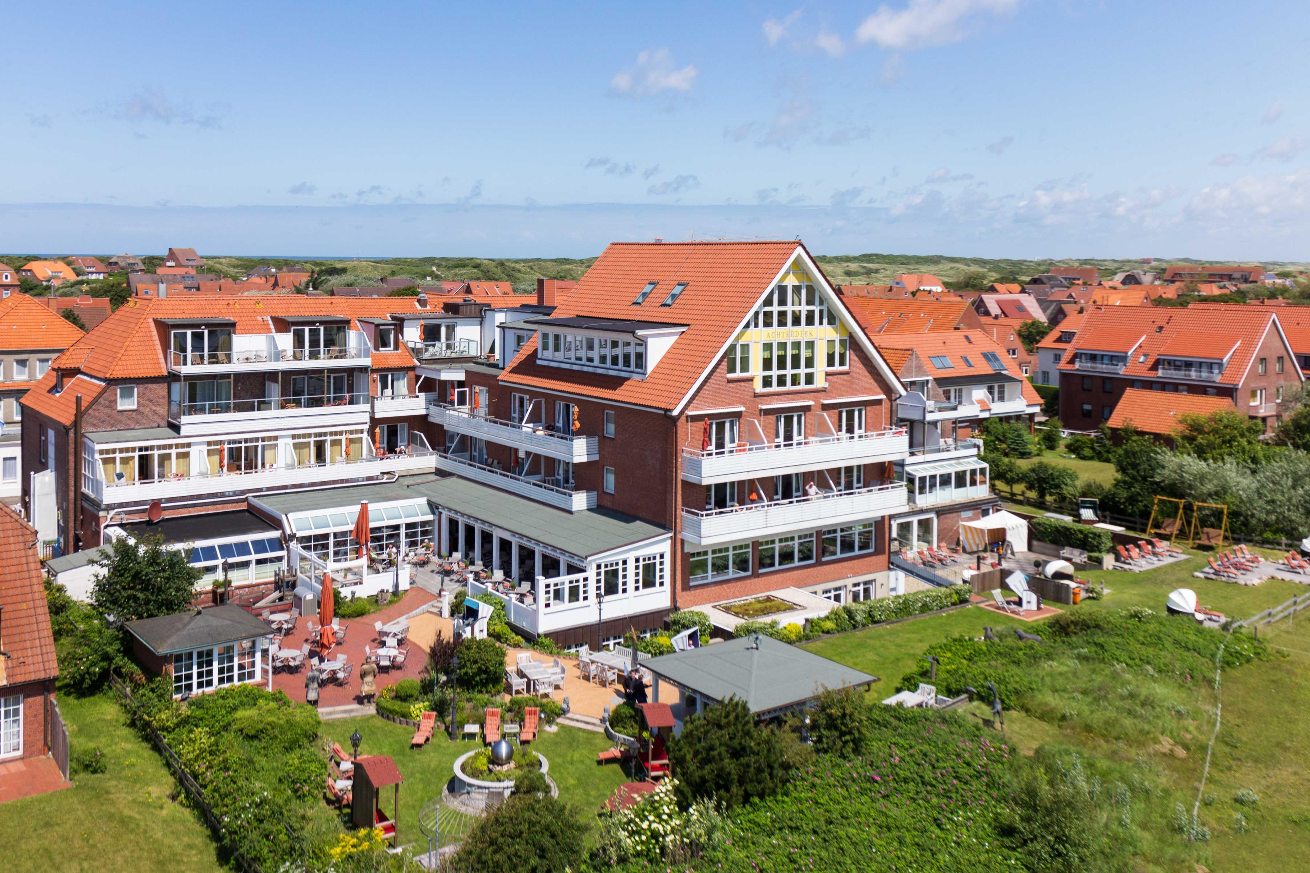 Romantik wellness hotel achterdiek nationalpark for Juist unterkunft gunstig